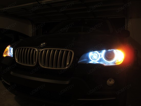 BMW - X5 - H8 - LED - Angel - Eyes - 3